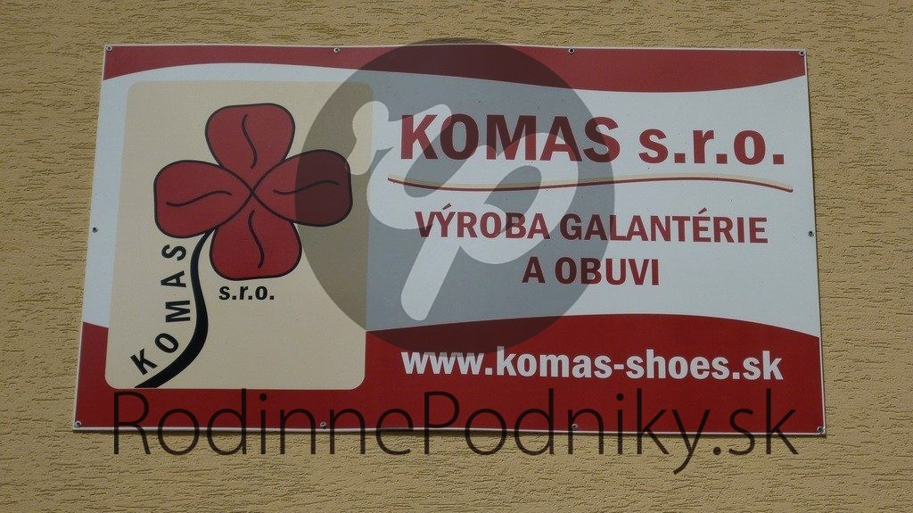 Rodinný podnik Komas