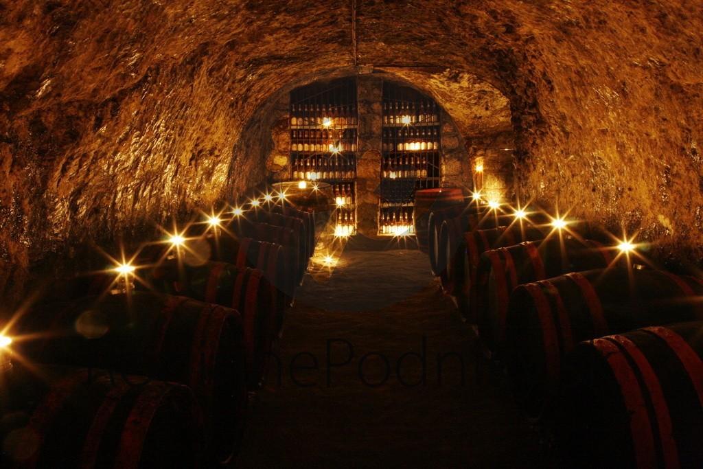 Víno v tokajskej pivnici